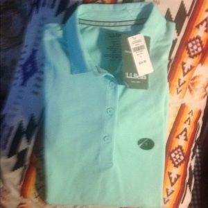 L.L. Bean slightly fit polo shirt size small  new